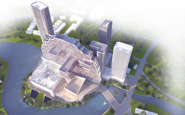 Casino development hotel project waterfront skat denmark gambling